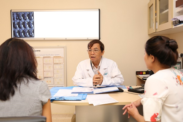 Scheduling an appointment with Dr. Huynh Hong Chau, MD, PhD in Neurology