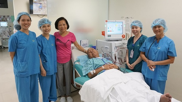 Dialysis care at City International Hospital